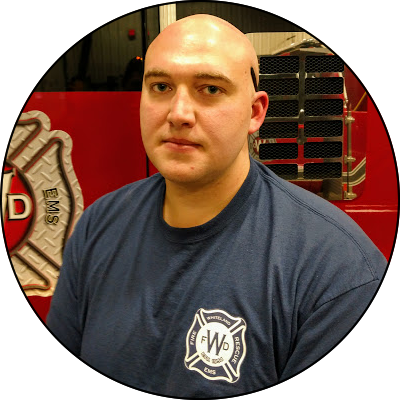 7120 Justin Anderson, Firefighter