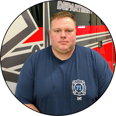 7227 Michael Allred, Firefighter