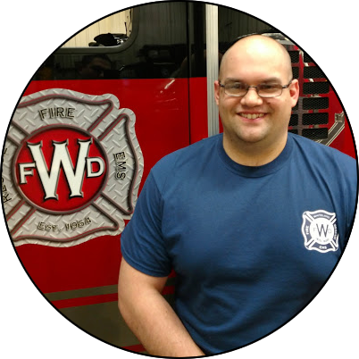 7124 Nathan Vrab, Firefighter